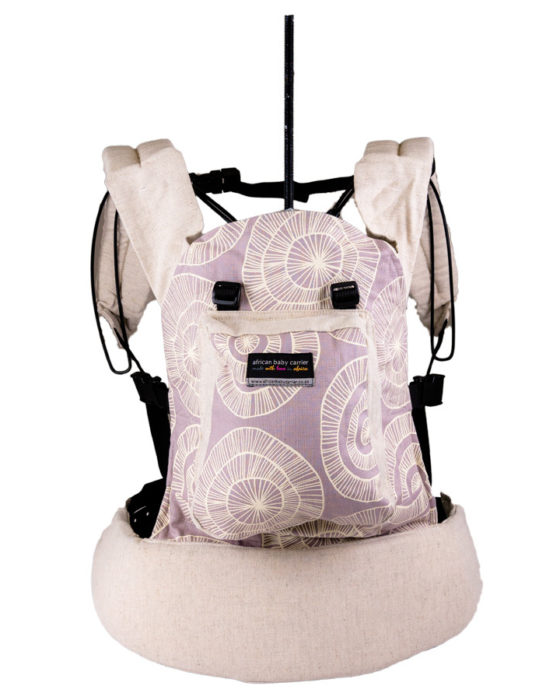 African Baby Carrier Newborn Hemp Circles