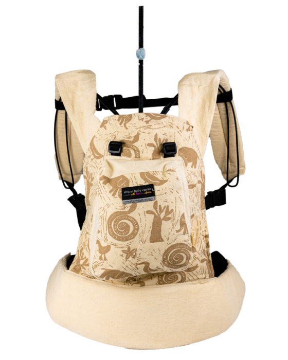African Baby Carrier Newborn Hemp Animal