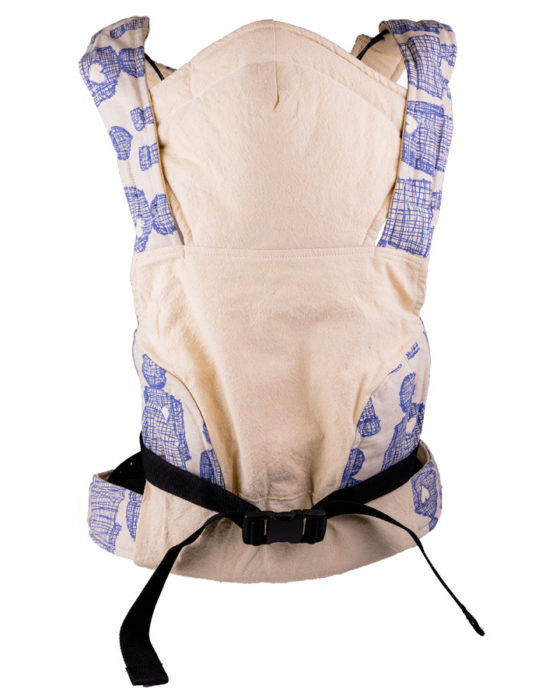 African Baby Carrier Newborn Hemp Boy heart