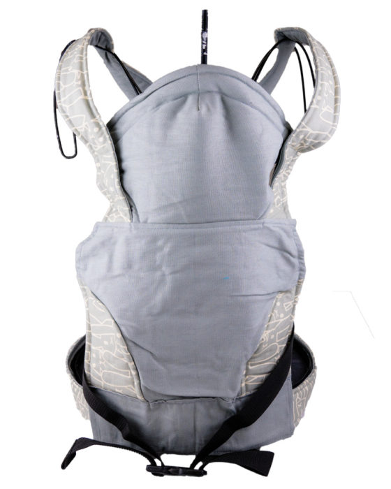 African Baby Carrier Newborn Sage Rabbit